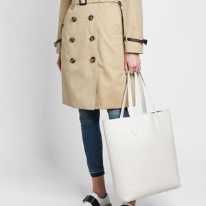 Burberry Bags - Burberry Remington Embossed Tote Chalk White 283877c164f82